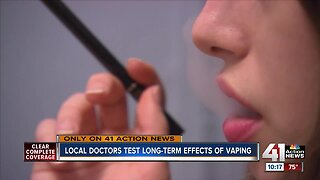 Doctors warn vaping could lead to seizures