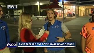 Fans prepare for Boise State home opener