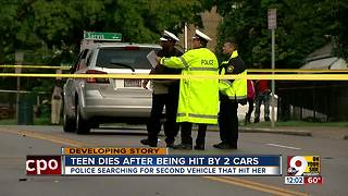 Police seek driver in hit-and-run that killed teen - Video