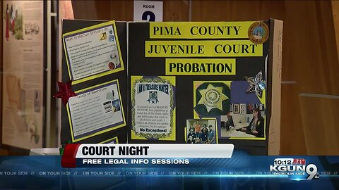 Free legal help at Court Night for Pima County residents
