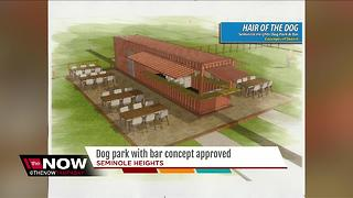 Dog park with bar concept approved - Video
