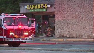 Fire breaks out at Canary's Family Restaurant in North Olmsted causing extensive damage - Video