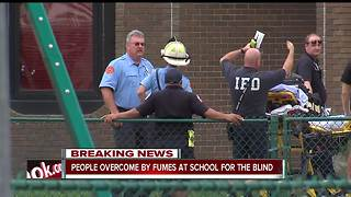 Multiple people sick after being exposed to chemical odor at north side Indianapolis school - Video