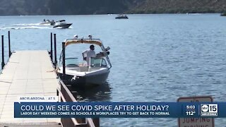 Could we see a COVID spike after the holiday?