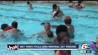 Hundreds of people in Marion County head to pools to beat the heat - Video