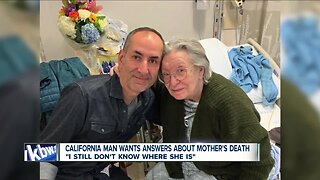 Son says he wasn't notified of mother's death