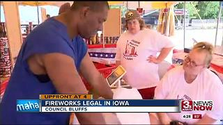 Firework sales now legal in Iowa 4:30pm - Video