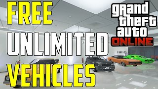 GTA 5 ONLINE FREE UNLIMITED VEHICLES FOR RETURNING PLAYERS  - Video