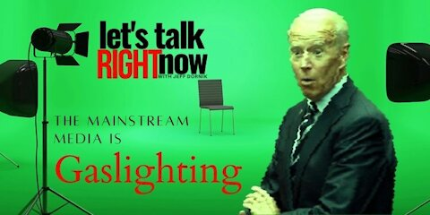 Gaslighting: MSM wants you to believe that CGI Joe Biden is real… they are clearly lying