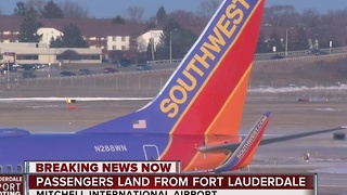 Local families took off in Florida just before Fort Lauderdale airport shooting - Video