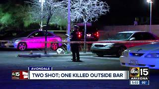 Two people shot outside Avondale bar - Video