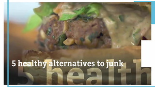 5 Healthy Alternatives To Your Junk Foods - Video