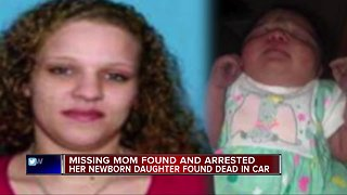Missing Lansing mother found, arrested after newborn baby found dead