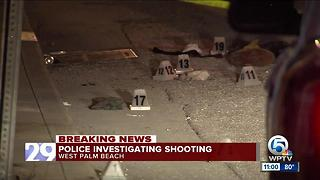 Police investigating West Palm Beach shooting - Video