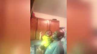 Cute Boy Amused To Close The Door - Video