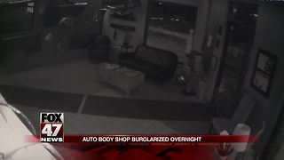 VIDEO: Burglary caught on tape