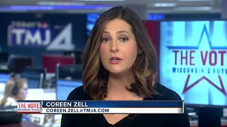 Exit poll data puts Evers ahead of Walker - Video