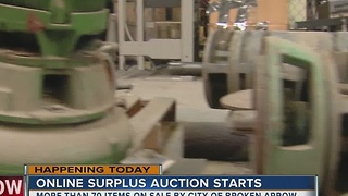 City of Broken Arrow begins online surplus auction - Video