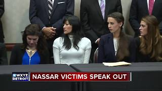 Nassar victims speak out