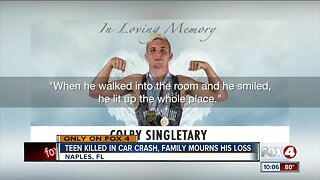 Family mourns teen killed in car crash