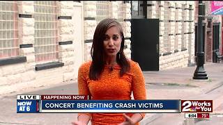 Benefit concert for Purcell deadly crash victims and their families - Video