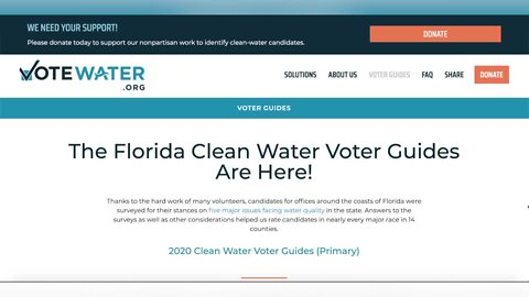 Local candidates respond to Vote Water ratings