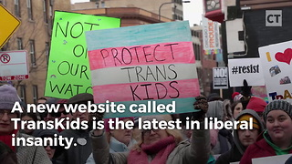 Web Site Peddles Sick Products to Trans Kids - Video