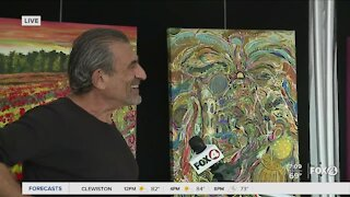 Artist Yoram Gal on painting about the pandemic
