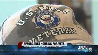 More affordable housing for veterans under construction