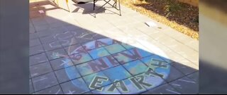 Las Vegas valley neighborhood hosts 'Chalk for Earth' event Wednesday