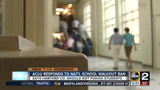 ACLU: Let students participate in school walkout - Video