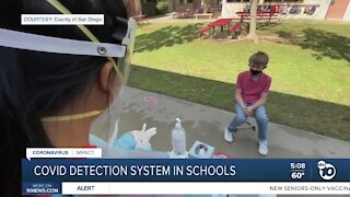 Schools get UCSD's early covid detection system
