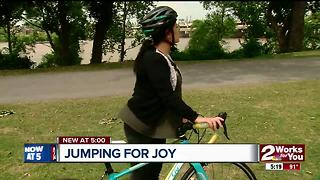 Facebook group helps woman find stolen bike - Video