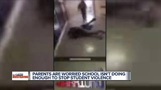 Parents worried Southfield school isn't doing enough to stop student violence - Video