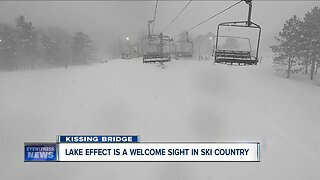 Lake effect snow a welcome sight in Ski Country