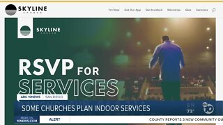 Some San Diego County Churches plan to host in-person, indoor services this weekend