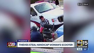 Glendale woman who recently underwent surgery asking for stolen scooter back - Video