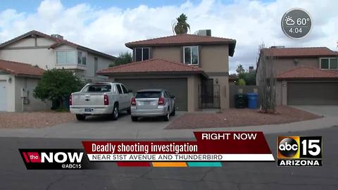 Police identify man shot and killed in front of home in Phoenix