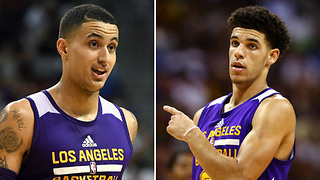 "Lonzo Ball Called ""DISGUSTING"" by Teammate Kyle Kuzma Over His Big Baller Business Practices - Video"