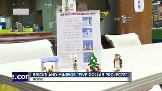 "Make ""5 dollar projects"" at Brooks and Minifigs - Video"
