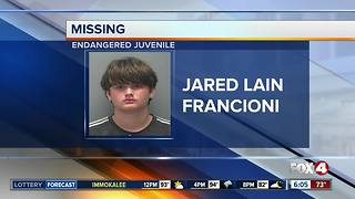 Police search for missing juvenile - Video