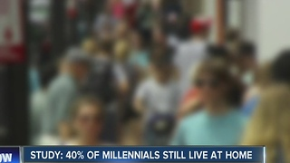 REPORT: 40% of Millennials live with family - Video
