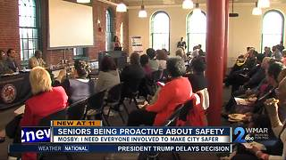 Senior citizens being proactive about their safety - Video