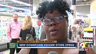 Shoppers flock to new Kroger store downtown