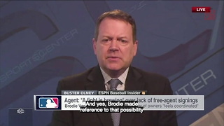 Rising Concern MLB Players Boycott Spring Training Due To Teams Not Signing Free Agents - Video