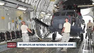 New York National Guard members to help in Texas - Video