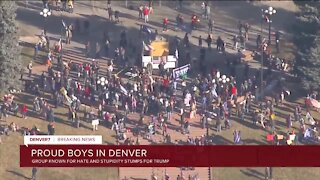 3 arrested in Denver protests, city offices close early