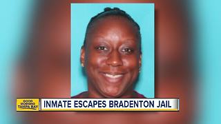 Deputies search for escaped inmate in Manatee County - Video