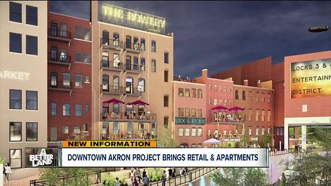 $42 million Bowery project bringing retail space and apartments to downtown Akron by next year