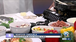 Recipe for seafood zarzuela